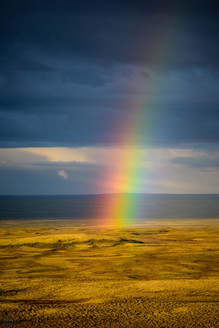 Rainbow, West Iceland