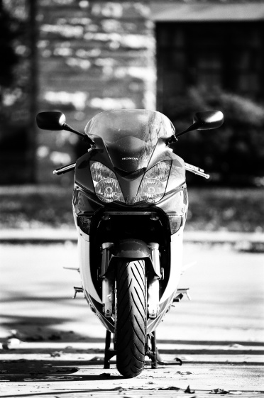 The kickstand in Kickstand. Honda VFR